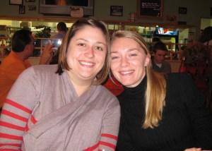Kendra and Sarah